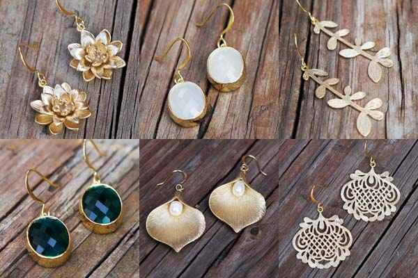 vintage inspired jewelry by jasmineandmagnolia